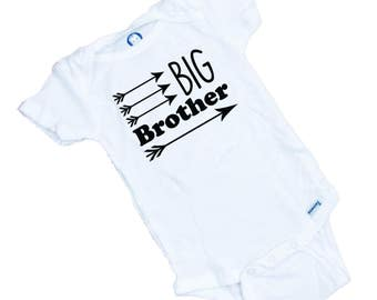 Big Brother Funny baby onesie or tee shirt