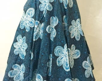 Hawaiian Print full circle skirt by Palm Island