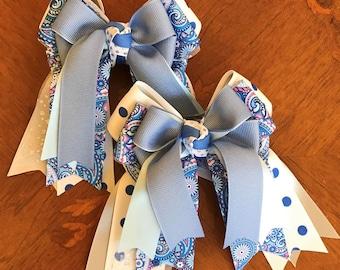 SHORTY -- Equestrian Hair Bows, Equestrian  Clothing, Beautiful Gift