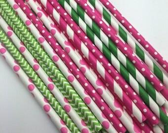 25pc Paper Straws #11