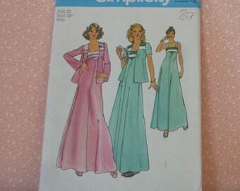 Vintage Simplicity Sewing Pattern #7269, Size 12, UNCUT