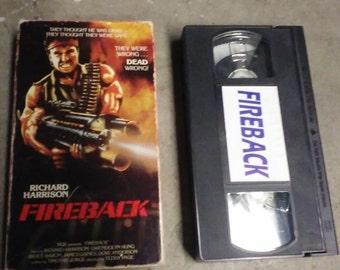 Fireback vhs bad b-movie