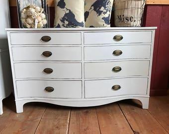 Vintage Mohogany Distressed Dresser