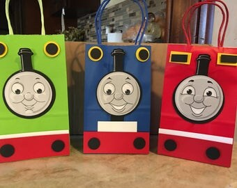 Thomas and friends favor bags