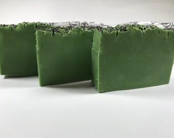 Refreshing, All Natural Lemongrass Soap