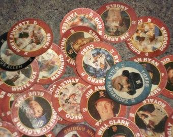 Vintage 1992 Lot of Superstar Action Coins - Star Sports Baseball