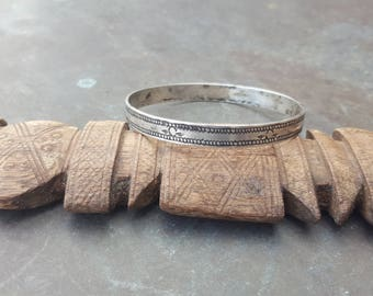 old silver braceletfrom north east Algeria