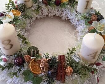 Big Christmas Wreath, Christmas decoration