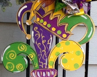 mardi gras door hanger mardi gras sign mardi gras door sign mardi gras - Mardi Gras Decorations