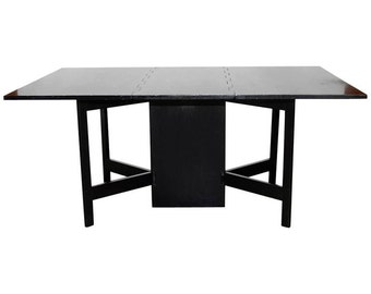 George Nelson for Herman Miller Drop-Leaf Dining Table