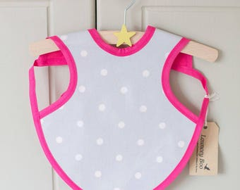 Baby Oilcloth Apron Bib