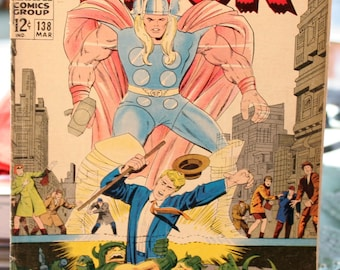 Thor 1967 Vol. 1 Issue # 138