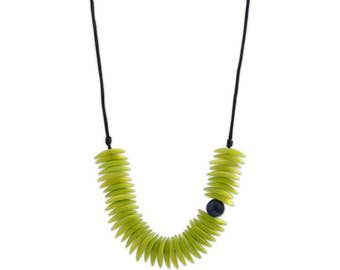 Eco Friendly Necklace Kori Tagua Necklace Sustainable Colombia Necklace