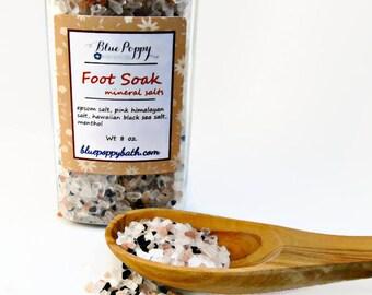 Foot Soak, Mineral Salt Soak for Tired, Achy Feet, Epsom Salts, Foot Bath