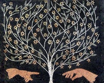 The Tree of Life and The Creation Of Adam