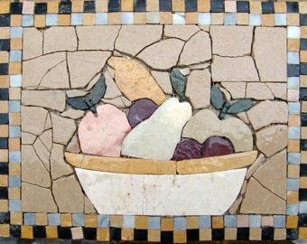 Kitchen Backsplash -Gourmet Fruits