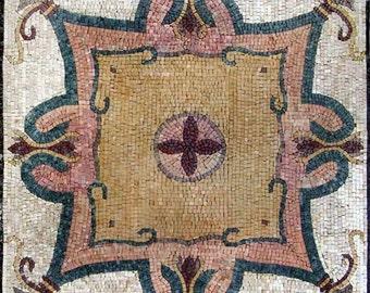 Floral Mosaic Square - Tabari