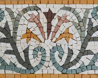 Marble Mosaic Border - Spring Aiten