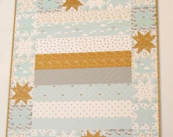 Skies Are Blue Quilt Kit