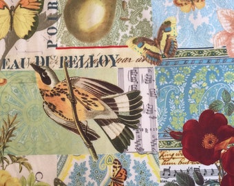 Anjou Pour Vous on Minky by Michael Miller Fabrics