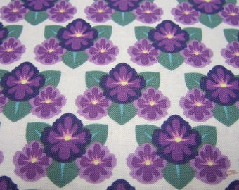 Rhode Island Violet State Flower Cotton Fabric from In The Beginning Fabrics