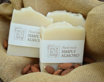 Simply Almond Handmade Vegan Soap