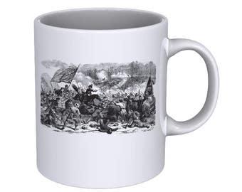 Battle of Winchester - Scene from a Civil War Battle - Coffee Mug - Best Gift !!!