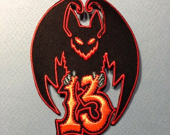 Bat 13 • Embroidered Patch