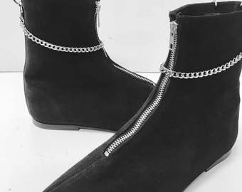 Original Pikes-Pixie Boots with Chain