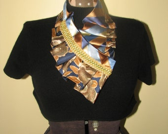 NEW - Necktie Necklace - Silk Necktie Accessorie - Unique Gift - Refashioned necktie