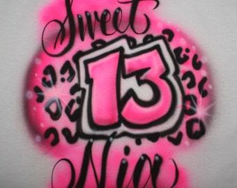 Personalized Birthday Party T Shirt, Birthday Party T Shirt, Personalized Birthday Shirt, Sweet 16, Birthday T Shirt, Sweet sixteen, Tutu