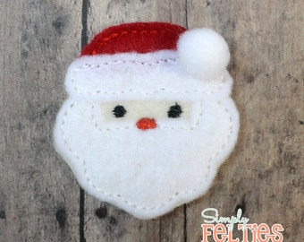 Santa Felties--Set of 4