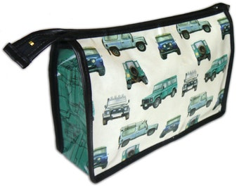 Land Rover Defender inspired toiletry bag