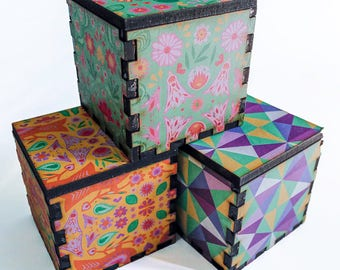 Assorted pattern box