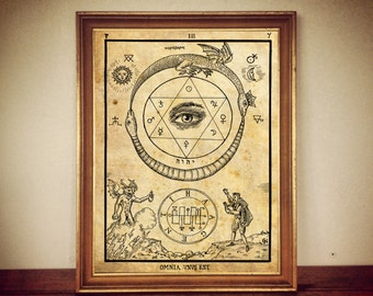 Occult, Occult print, Occult poster, pagan, witchcraft, magic #12
