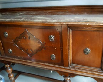 AVAILABLE FOR CUSTOM***Vintage Buffet Sideboard