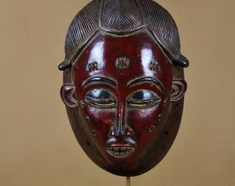 Mask Baoule from Côte d'Ivoire