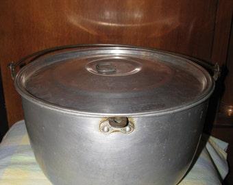 Vintage Large canning Kettle