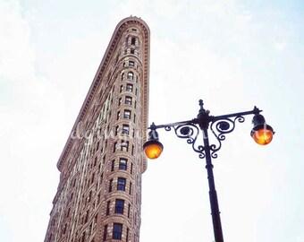 Flatiron print, New York City art, Flatiron Building, New York City Photo, architectural photo, Flatiron photo, NYC architecture, NYC art