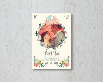 Winter Garden Thank You Card