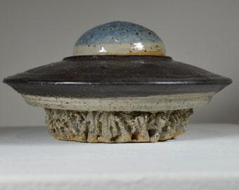 Ceramic UFO Jar
