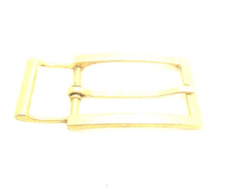 Vintage brass belt buckle 60's