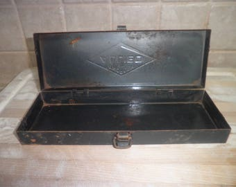 Vintage Thorson Allied metal container