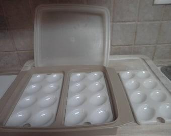 Vintage Tupperware egg holder