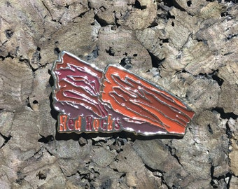 Red Rocks Ampitheathre Heady Hat Pin