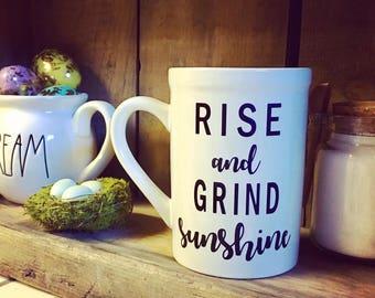 Mug - Rise and Grind sunshine