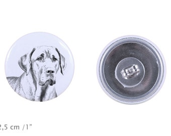 Earrings with a dog - Boholmer