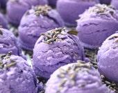 Lavender Bubble Bath Truffles - all natural bath truffle, bubble scoop, lavender bath bomb, gift for her, stocking stuffer, gift under 20
