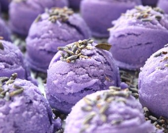 Lavender Bubble Bath Truffles - all natural bath truffle, bubble bath melt, Bubble Bar, bubble Truffle. bubble scoop, lavender bath bomb