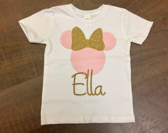 Minnie Mouse With Custom Name
